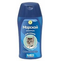 АВЗ Морской шампунь для короткошерстных кошек, 180мл