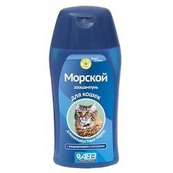 АВЗ Морской шампунь для длинношерстных кошек, 180мл