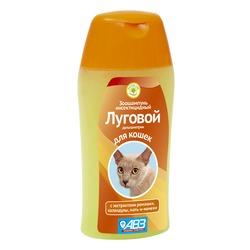 АВЗ Луговой шампунь инсектицидный для кошек, 180мл
