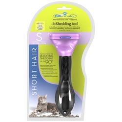 Furminator фурминатор Short Hair Small Cat для маленьких кошек короткошерстных пород 4 см