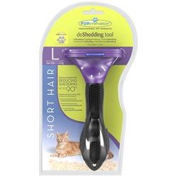 Furminator фурминатор Short Hair Large Cat для больших кошек короткошерстных пород 7 см