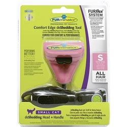 Furminator FURflex Кфурминатор-комбо против линьки S, для маленьких кошек (ручка+насадка)