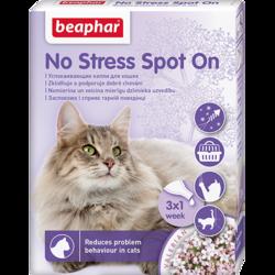 Beaphar Успокаивающие капли No Stress Spot On для кошек, арт.13913