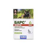 Барс капли для кошек от блох и клещей, 3 пипетки