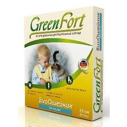 Green Fort БиоОшейник от блох для кошек 35 см