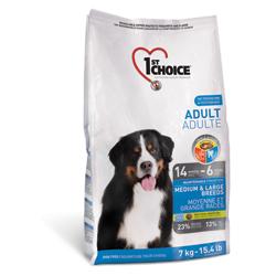 1st Choice для взрослых собак средних и крупных собак, с курицей (Adult Medium&Large Breed)