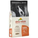 Almo Nature сухой корм для взрослых собак с лососем, Medium&Salmon