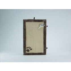 IPTS Когтеточка-коврик с плюшем бежевый