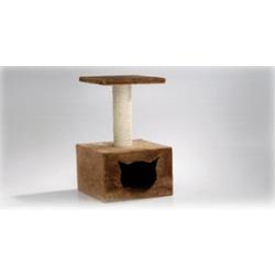 I.P.T.S. Когтеточка-домик с площадкой