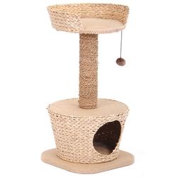 Triol Игровой комплекс для кошек из камыша и джута, арт. CT01