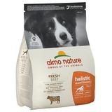 Almo Nature сухой корм для взрослых собак средних пород с говядиной, Medium&Beef and Rice Holistic