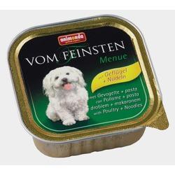 Animonda с мясом домашней птицы и пастой Vom Feinsten консервы для взрослых собак, 150 гр. х 22 шт.