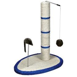 Trixie Когтеточка-столб д/кошек с игрушкой и мышкой на пружине, сизаль 50см, арт. 4306