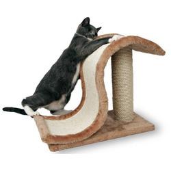 "Trixie Когтеточка д/кошек ""Волна на подставке (""Inca"" )"" сизаль/плюш 39см, арт. 4341"