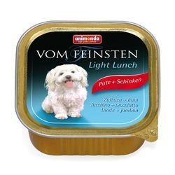Animonda с индейкой и ветчиной Vom Feinsten Light Lunch консервы Облегченное меню для собак, 150 гр. х 22 шт.