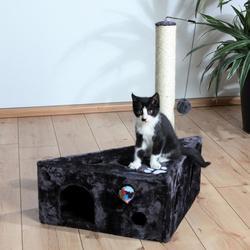 "Trixie Домик д/кошек ""Murcia"" антрацит 65*45/45*68см, арт. 4362"