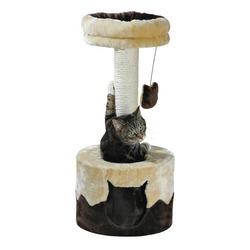 "Trixie Домик для кошки ""Nuria"" 71см бежевый/коричневый, арт. 43791"