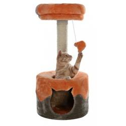 "Trixie Домик для кошки ""Nuria"" 71см серый/оранжевый, арт. 43792"