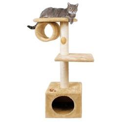 "Trixie Домик д/кошки ""San Fernando"" с 2-мя площадками и трубой 106см, арт. 43951"
