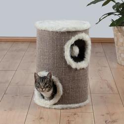 """Trixie Домик д/кошек """"Башня"""" (""""Edorado"""") коричневый/бежевый, диаметр 33 см, высота 50 см, арт. 4331"""