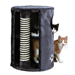 "Trixie Домик д/кошек ""Башня"" (""Dino"") с когтеточкой 41*58см, арт. 4336"