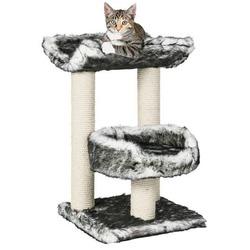 """Trixie Домик д/кошек """"Isaba"""" черный/белый 62см, арт. 44567"""