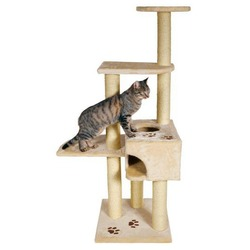 "Trixie Домик для кошки ""Аликанте"" (""Alicante"") высота 152см антрацит, арт. 43867"