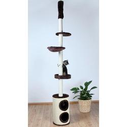 """Trixie Домик д/кошек """"Linea"""" коричневый высота 225-265см, арт. 43670"""