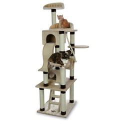 "Trixie Домик для кошки ""Adiva"" 209см бежевый/коричневый, арт. 43691"