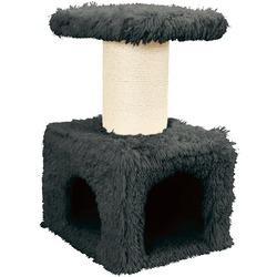 СКИДКА 35% Zolux Домик с когтеточкой для кошек «YETI Master» серый