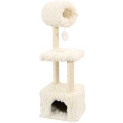 СКИДКА 35% ! Zolux Комплекс с когтеточкой для кошки «YETI Rex», белый, 1,25 м