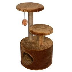 Дарэлл домик-когтеточка 3-х уровневый