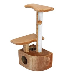 Дарэлл домик-когтеточка 3-х уровневый угловой