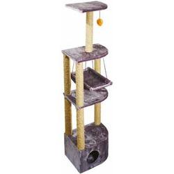 Дарэлл домик-когтеточка угловой, 4-х уровневый