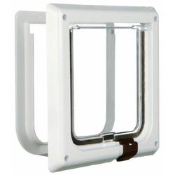 Trixie Дверца для кошки (14,7 ? 15,8см), пластик, белый. , арт. 38601