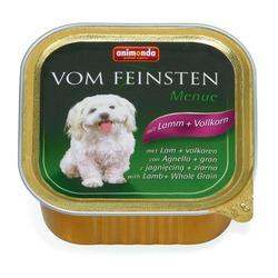 Animonda с ягненком и цельными зернами Vom Feinsten Menue консервы для собак, 150 гр. х 22 шт.