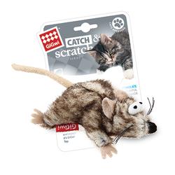 GiGwi мышка с кошачьей мятой 8 см арт.75383