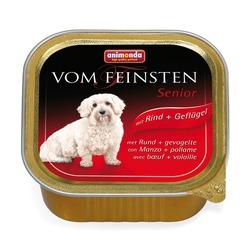 Animonda с говядиной и курицей Vom Feinsten Senior консервы для собак старше 7 лет, 150 гр. х 22 шт.
