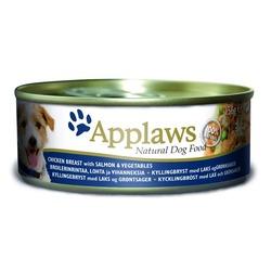 Applaws консервы для собак с курицей, лососем и рисом, 156 гр