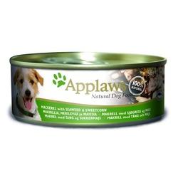 Applaws консервы для собак со скумбрией, морской капустой и сладкой кукурузой, 156 гр