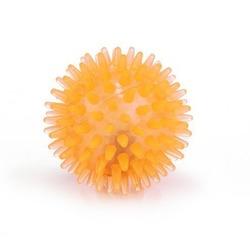 """IPTS Игрушка """"Мячик светящийся"""", оранжевый, латекс 5 см"""