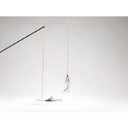 IPTS Удочка с разноцветными перышками 70 см