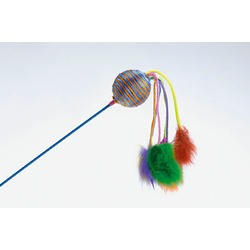 IPTS Удочка с шариком и помпонами, 60 см