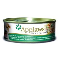 Applaws консервы для собак с курицей, тунцом и рисом, 156 гр