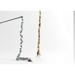 IPTS Удочка с хвостом сафари, 70 см