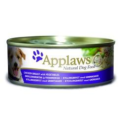 Applaws консервы для собак с курицей, овощами и рисом, 156 гр