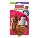 """Kong """"Белка"""" игрушка для кошек с кошачьей мятой +баночка с мятой"""