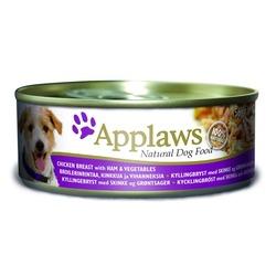 Applaws консервы для собак с курицей, ветчиной и овощами, 156 гр