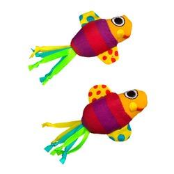 Pet Stages игрушка рыбки с кошачьей мятой, 2шт., 9 см