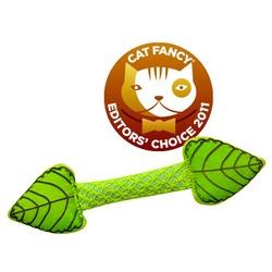"""Pet Stages игрушка для кошек Dental """"Листик"""" из прессованных листьев кошачьей мяты, 11 см"""